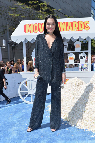 pants blouse jessie j mtv movie awards