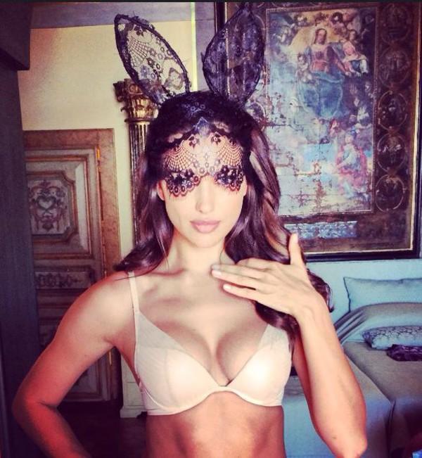 hair accessory bunny bunny ears lace hair accessory sexy underwear bra