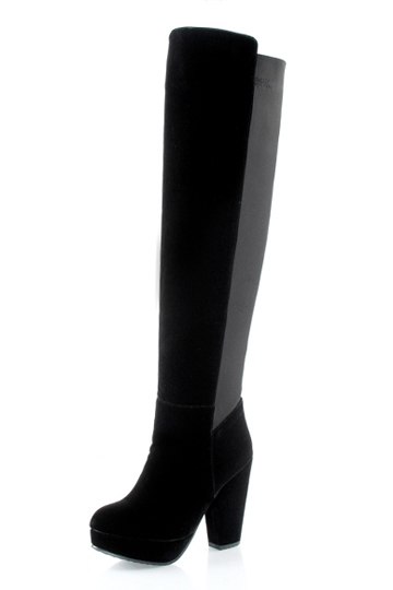 Vintage Stretchy Thin Thigh High Knight Boots [FABI1403]- US$69.99 - PersunMall.com