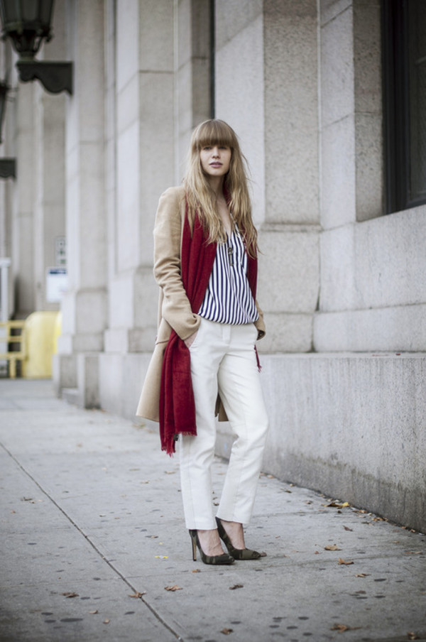 just another me pants jacket blouse scarf shoes jewels
