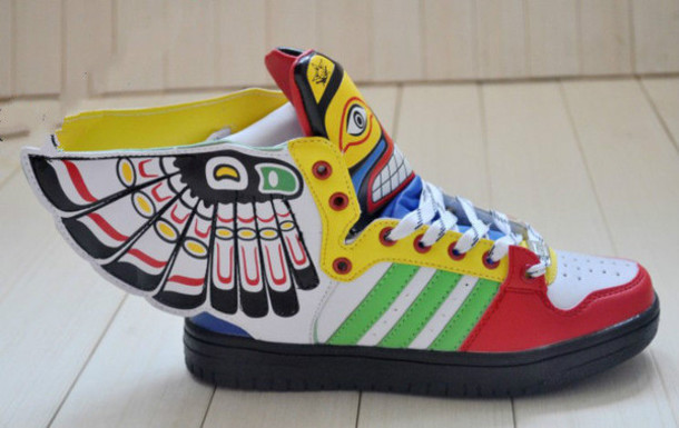 adidas shoes colorful