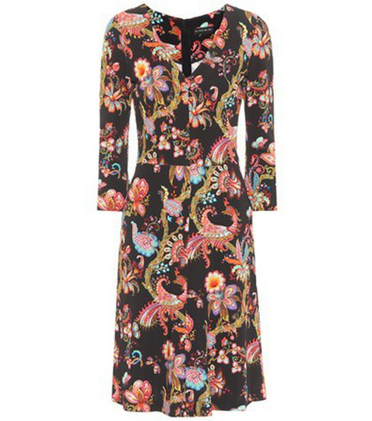 ETRO dress printed dress