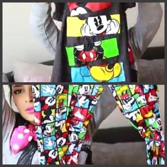 pajamas mickey