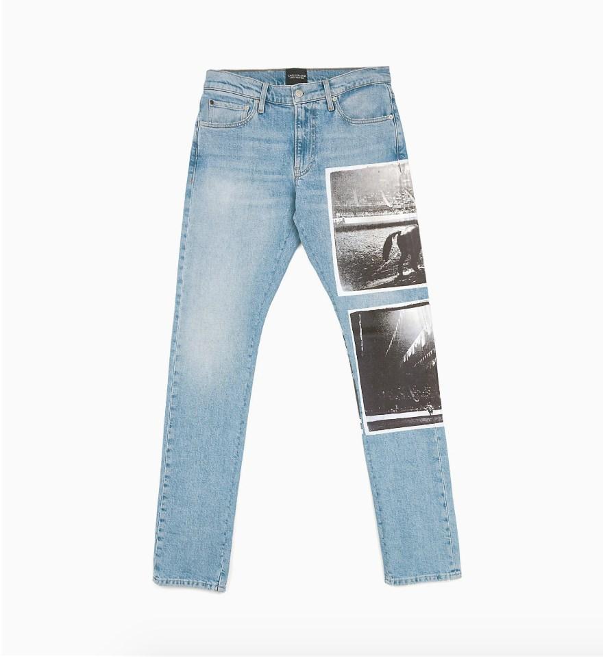Andy Warhol CKJ 035 Straight Jeans