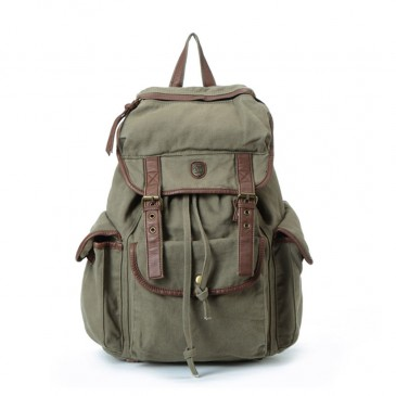 Vintage Canvas Backpack Rucksack Unisex for Outdoor Sports Travel Bag|Estarer Mens Backpack