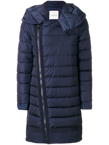 moncler coat women blue