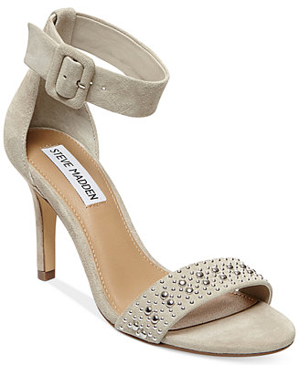 4ced88eb5 Steve Madden Women's Canastel Two-Piece Dress Sandals - Evening & Bridal -  Shoes - Macy's