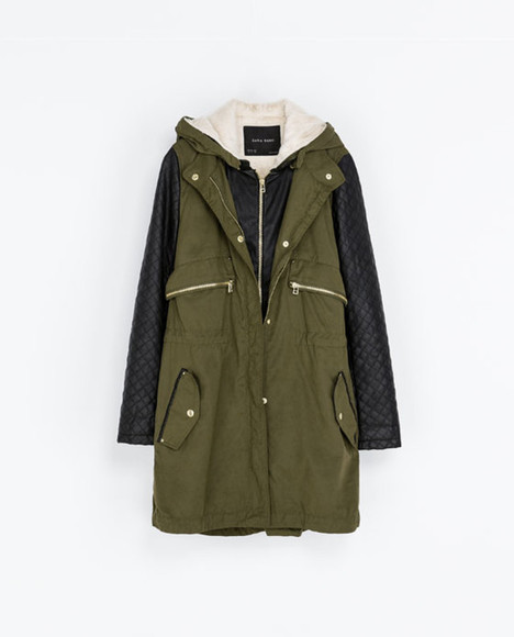 zara coat winter coat