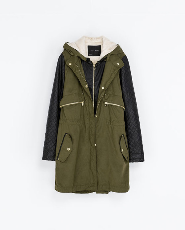 coat zara winter coat