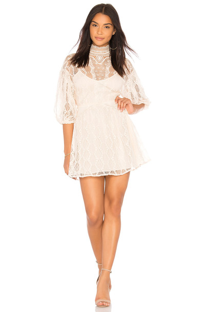 Free People dress mini dress mini beige