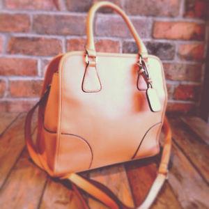 Womens Tan Tote Shopper Handbag Holdall Bag   eBay