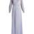 Fluidity silk-tulle sheer dress