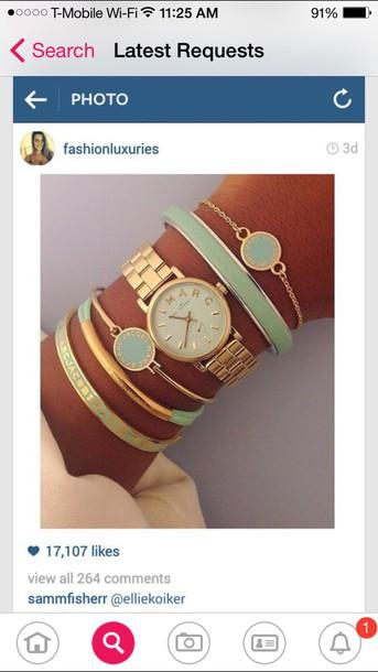 jewels marc jacobs watch bracelets