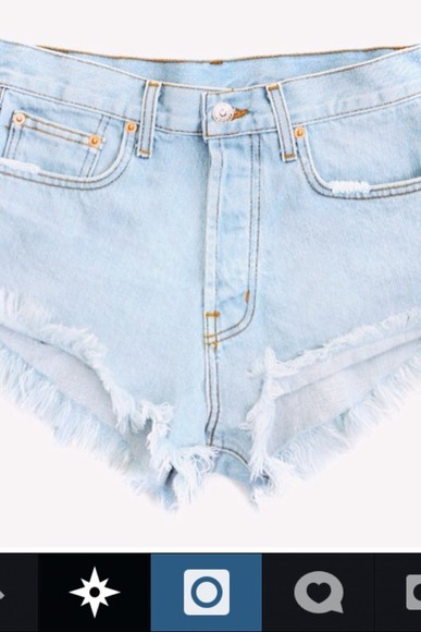 lovely pepa shorts cool girl style cut off shorts
