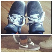 shoes,nike,trainers,grey,new
