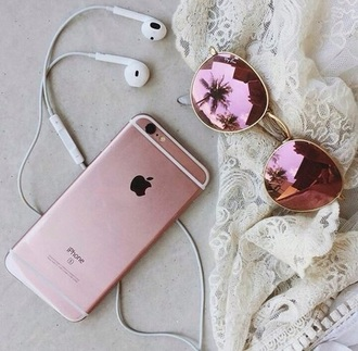 sunglasses cozy pink iphone summer phone cover blue iphone skin iphone cover iphone case headphones phone purple holographic girl fashion gold mirrored sunglasses mirrored shades lace pink sunglasses pink phone case apple