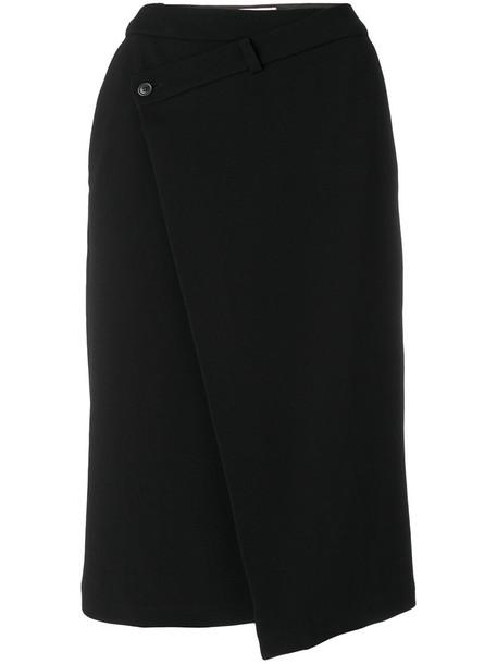 A.F.VANDEVORST skirt buttoned skirt women spandex black