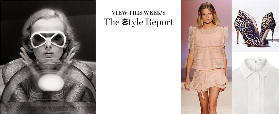 Leaf-crepe high-rise stripe trousers | Alexander McQueen | MAT...