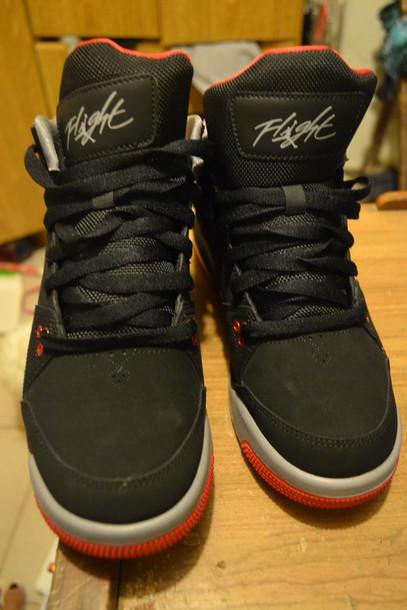 best loved 9774a 0e8df shoes black jordan flight jordan flight 45 michael jordan flight jordans  black jordans