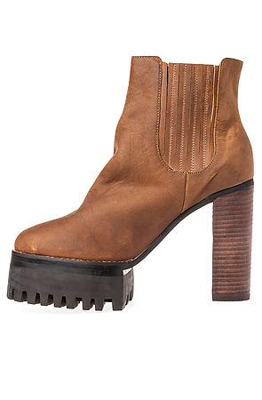 Jeffrey Campbell Booties Vashon Brown -  Karmaloop.com