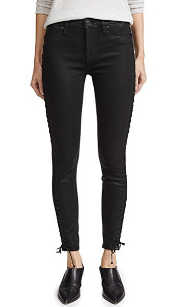 Hudson jeans skinny jeans lace black