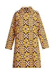 coat,cotton,print,velvet,yellow
