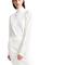 High neck wool sweater dress, ivory - sportmax