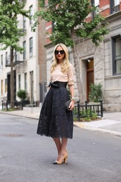 atlantic pacific,skirt,dress,t-shirt,shoes,bag,sunglasses,belt,dark blue