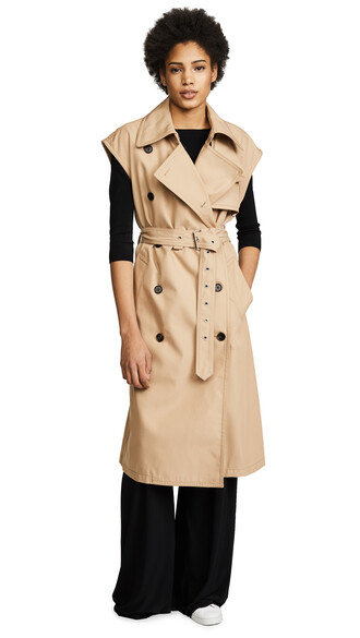 vest camel jacket