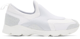 sneakers white neoprene shoes