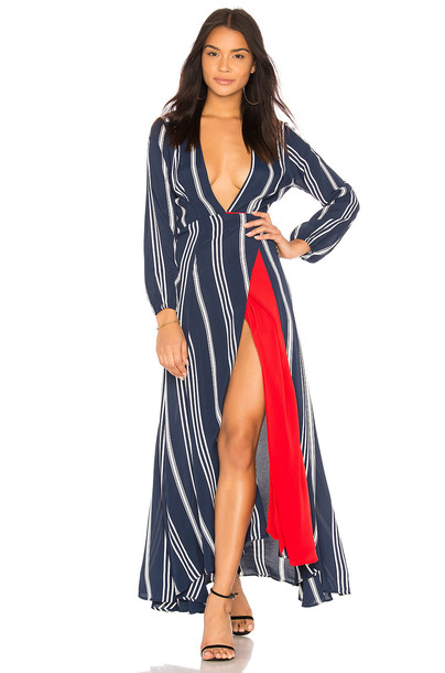 Two Arrows dress maxi dress maxi blue