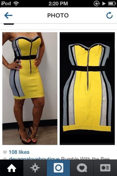 dress yellow yellow dress cute dress prom dress short prom dress