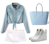 bag,outfit,student,girl,blue,light blue,ootd,collection,pastel bag,back to school