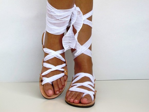 wrap shoes