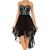Embellished High Low Dress-LT12A