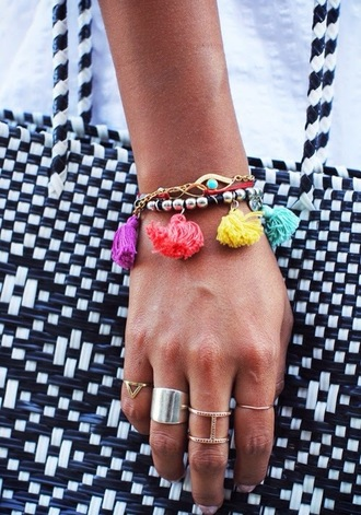 jewels bag rigs cool beach city colour bracelets acessories jewelry jewlery jewelry ring bracelet chains fashion