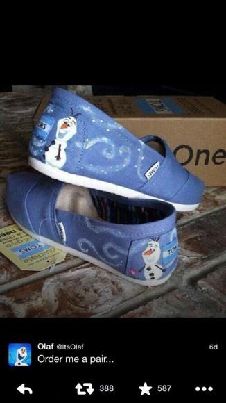 shoes toms frozen