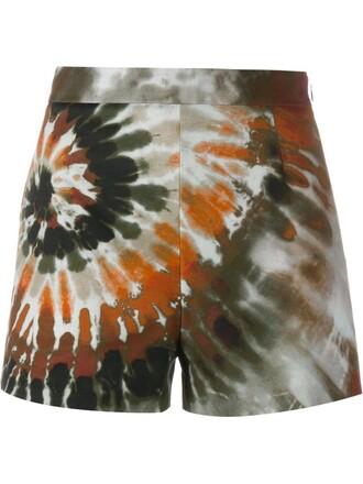 shorts tie dye cotton