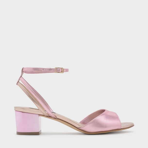 ankle strap sandals gold shoes