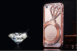 size 40 75d70 42f4d Big Diamond Swarovski Element Crystal Bumper Case Cover For iphone 6 PLUS  5.5