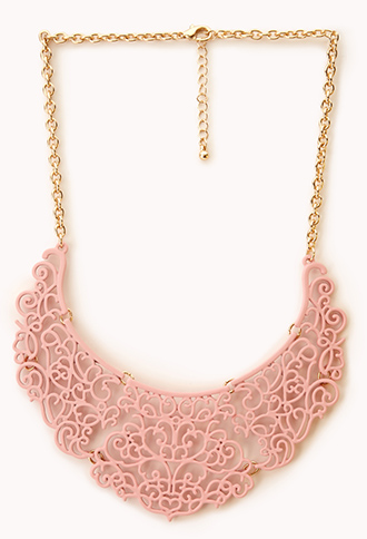 Regal Filigree Bib Necklace | FOREVER21 - 1000129369