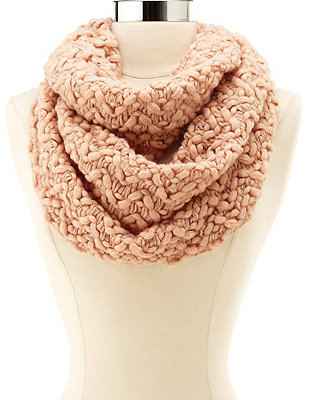 Chunky knit infinity scarf: charlotte russe