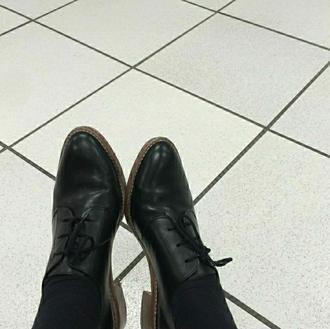 shoes black shoes grunge vintage old school black oxfords oxfords