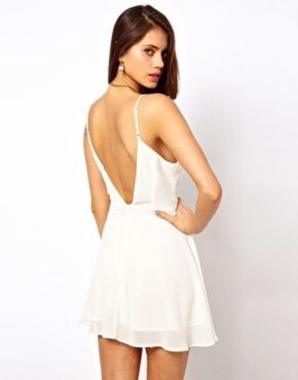 dress open back white dress open back dresses