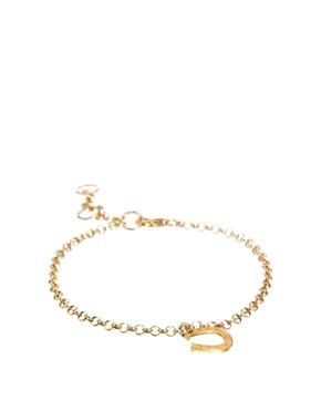Dogeared horseshoe bracelet at asos