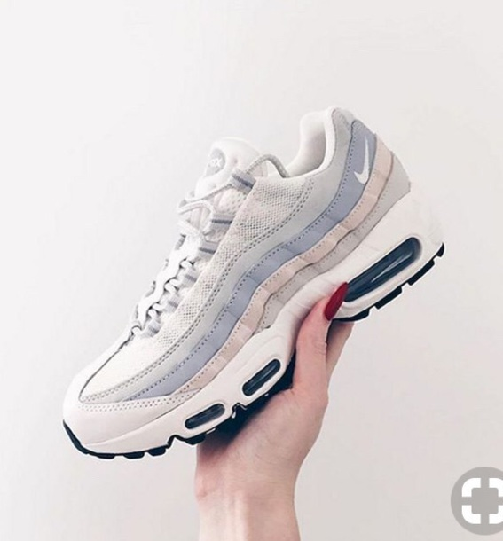 shoes, nike, nike airmax 95 og, air max, air max, white