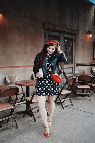 noelles favorite things blogger dress jacket bag