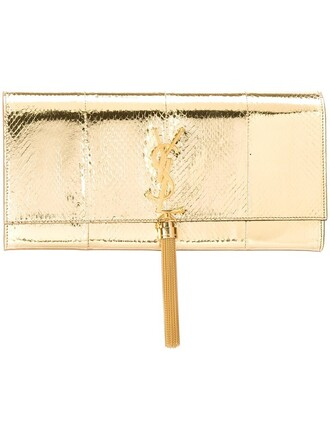 clutch metallic bag