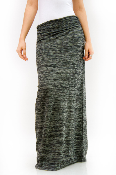 Over maxi skirt