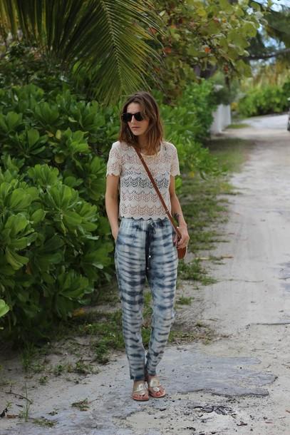jess style rules shoes pants t-shirt bag jewels